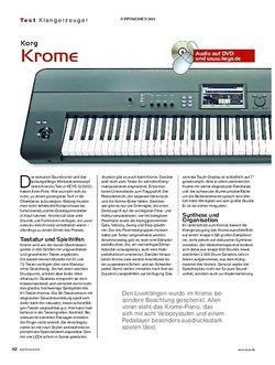 KEYS Korg Krome
