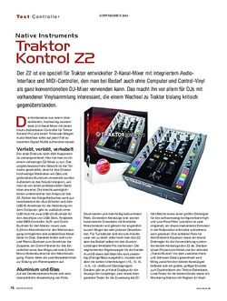KEYS Native Instruments Traktor Kontrol Z2