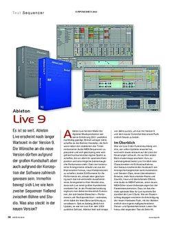 KEYS Ableton Live 9 & Push