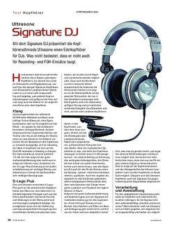 KEYS Ultrasone Signature DJ