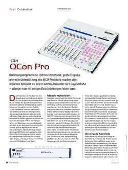 KEYS iCON QCon Pro