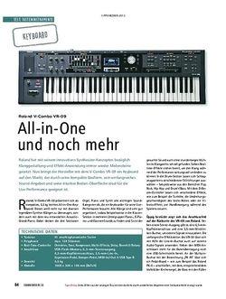 Soundcheck Roland V-Combo VR-09