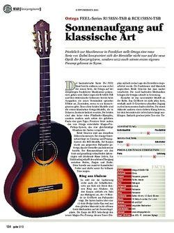 Guitar gear Akustikgitarre - Ortega FEEL-Series R158SN-TSB & RCE158SN-T