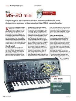 KEYS Korg MS-20 mini