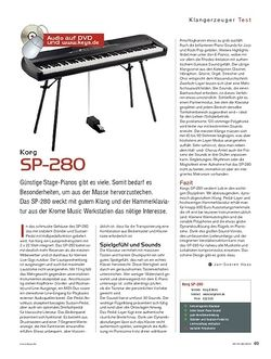 KEYS Korg SP-280