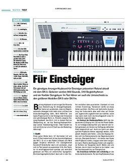Tastenwelt Roland BK-3