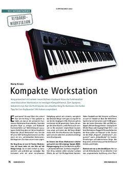 Soundcheck Korg Kross