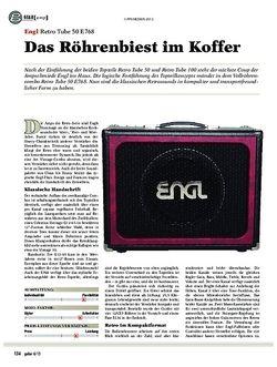 Guitar Engl Retro Tube 50 E768