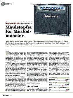 Guitar Hughes & Kettner Tubemeister 36
