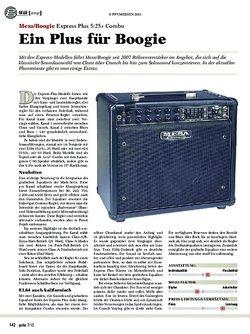 Guitar Mesa/Boogie Express Plus 5:25+ Combo