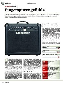 Guitar Blackstar ID:30TVP