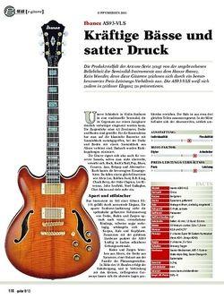 Guitar Ibanez AS93-VLS