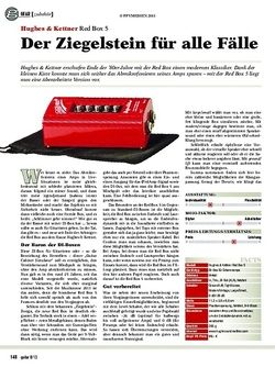 Guitar Hughes & Kettner Red Box 5