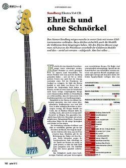 Guitar Sandberg Electra Vs4 CR