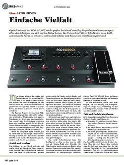 Guitar Line 6 POD HD500X
