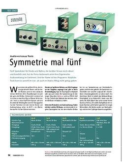 Soundcheck Audiowerk MoDI, DuDI, MeDI, Boosti, CoDI