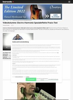 Bonedo.de Videokolumne #8: Vierfache Effekthascherei