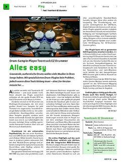 KEYS Test: Toontrack EZ Drummer