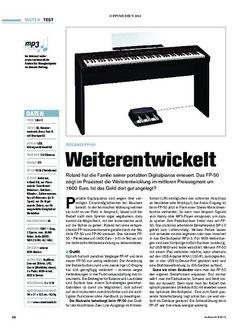 Tastenwelt  Roland FP-50