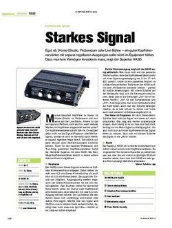Tastenwelt Superlux HA3D - Starkes Signal