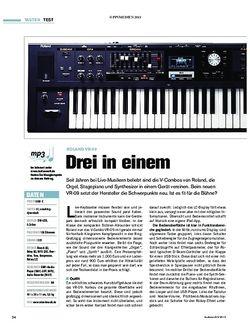 Tastenwelt Roland VR-09