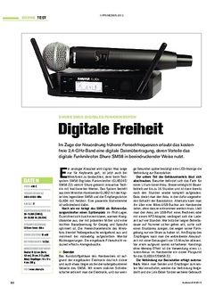 Tastenwelt Shure SM58 Digitales Funkmikrofon