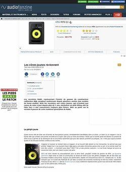 Audiofanzine.com KRK Rokit 8 G3