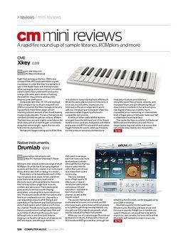Computer Music Toontrack Rock! EZX