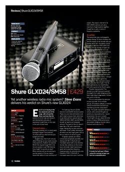 Future Music Shure GLXD24/SM58