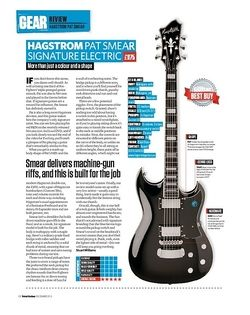 Total Guitar Hagstrom Pat Smear Signature Electric