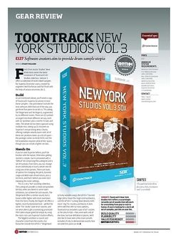 Rhythm Toontrack New York Studios Vol 3