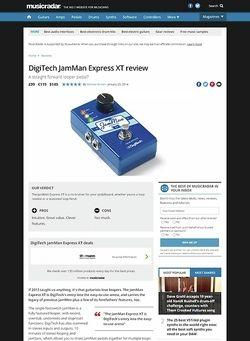 MusicRadar.com DigiTech JamMan Express XT