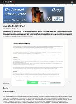 Bonedo.de Line 6 Amplifi 150 Test Preview