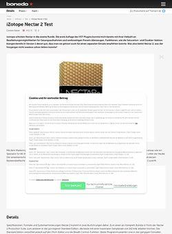 Bonedo.de iZotope Nectar 2 Test