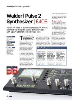 Future Music Waldorf Pulse 2 Synthesizer