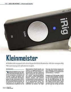 Professional Audio IK Multimedia iRig PRO