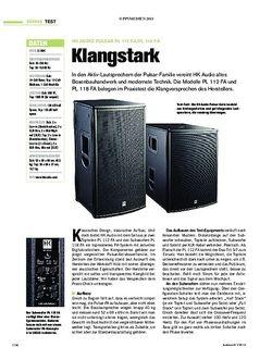 Tastenwelt HK Audio Pulsar PL 112 FA/PL 118 FA
