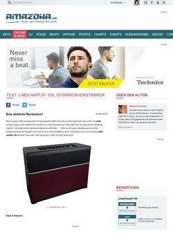 Amazona.de Test: Line6 Amplifi 150, Gitarrenverstärker