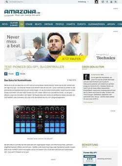 Amazona.de Test: Pioneer DDJ-SP1, DJ-Controller