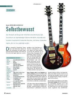 Soundcheck Ibanez AR325-DBS & AR420-VLS