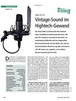 Recording Magazin Rode NT1-Kit