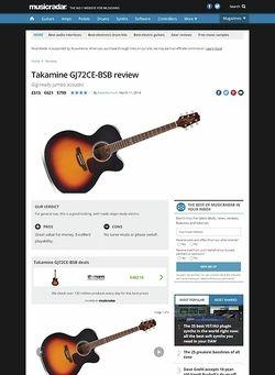 MusicRadar.com Takamine GJ72CE-BSB