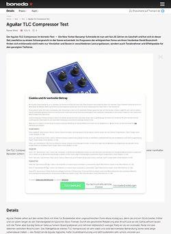 Bonedo.de Aguilar TLC Compressor
