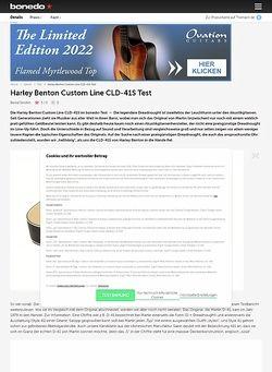 Bonedo.de Harley Benton Custom Line CLD-41S