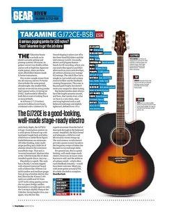 Total Guitar Takamine GJ72CE-BSB