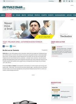 Amazona.de Test: Palmer Drei, Gitarrenverstärker