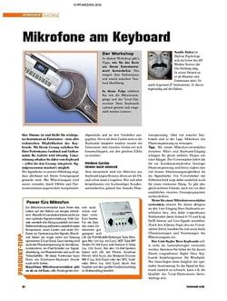 Tastenwelt Workshop: Gear-Tuning - Mikrofone am Keyboard