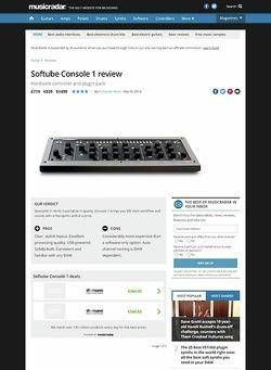 MusicRadar.com Softube Console 1