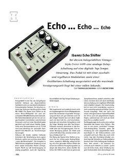 Gitarre & Bass Ibanez Echo Shifter, Delay-Pedal