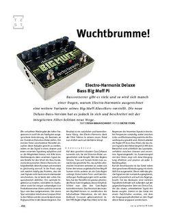 Gitarre & Bass Electro-Harmonix Deluxe Bass Big Muff Pi, Bass-Zerrer